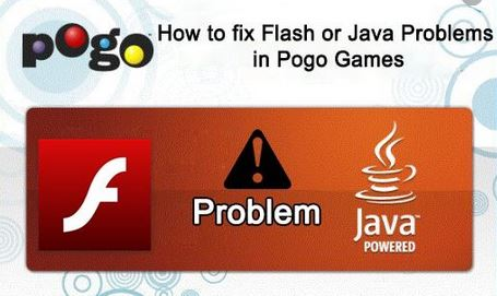 How to Fix Flash or Java Problems In Pogo Games